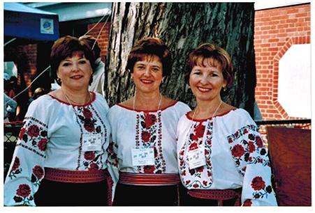 Ensemble Cheremshyna group-photo